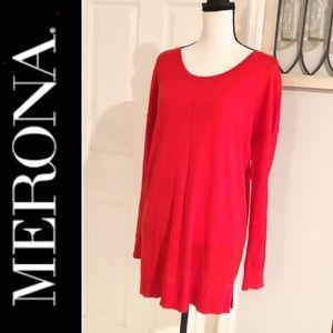 Merona Bright Red Sweater